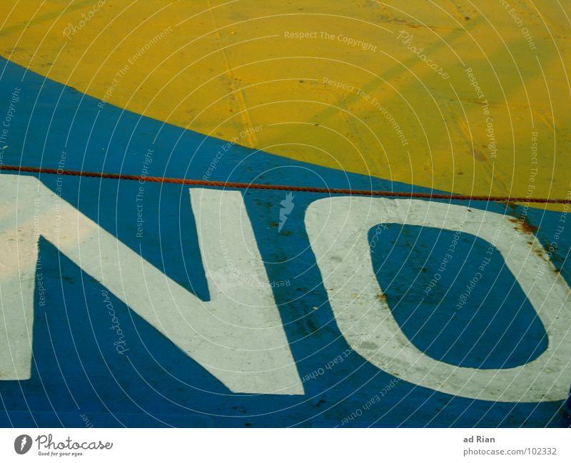 ONLY Meer blau Strand gelb Kreis Streifen Rettung Jacht Hubschrauber Symbole & Metaphern Sportboot Schiffsunglück Öffentlicher Dienst