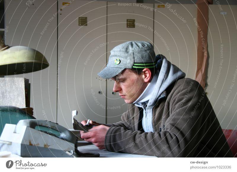 Früher war es noch kalt im Büro Arbeit & Erwerbstätigkeit Beruf Handwerker Büroarbeit Büroangestellte Sachbearbeiter Handel Dienstleistungsgewerbe Medienbranche