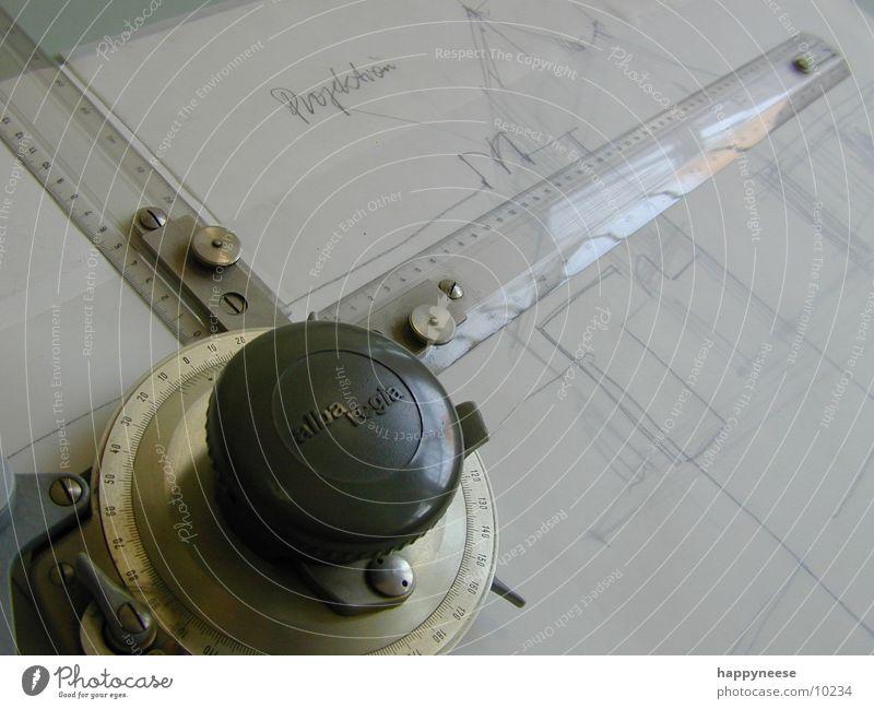 skizze Lineal Gemälde Bleistift Entwurf Handwerk zeichenplatte Zeichnung