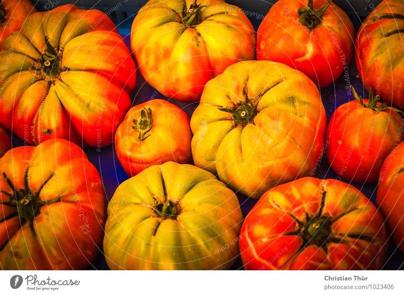 Frische Tomaten Sommer Gesunde Ernährung Leben Gesundheit Essen Hintergrundbild frisch Kochen & Garen & Backen Gemüse Bioprodukte Markt Diät Fasten saftig