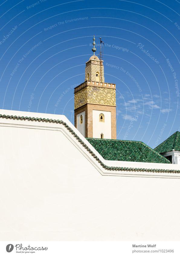 El-Fahs Ferien & Urlaub & Reisen elegant Kirche Glaube Afrika Sehenswürdigkeit Gebet Islam Moschee Marokko Rabat