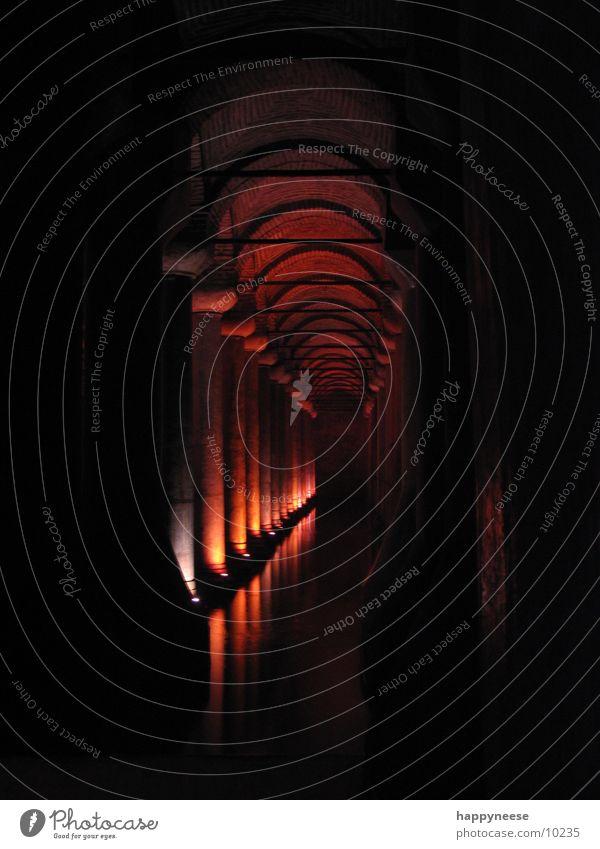 Unterirdisch 2 Istanbul Architektur Wasserzisterne Säule Sultanahmet