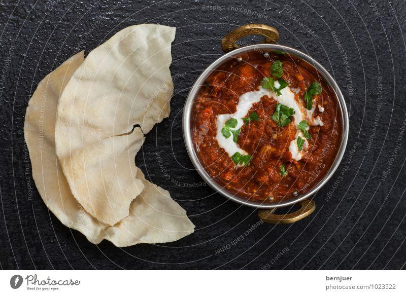 Timmy Curry Speise Stein Lebensmittel Foodfotografie Wassertropfen Ernährung Kochen & Garen & Backen gut lecker Schalen & Schüsseln Backwaren Abendessen Fleisch Indien Teigwaren Sahne