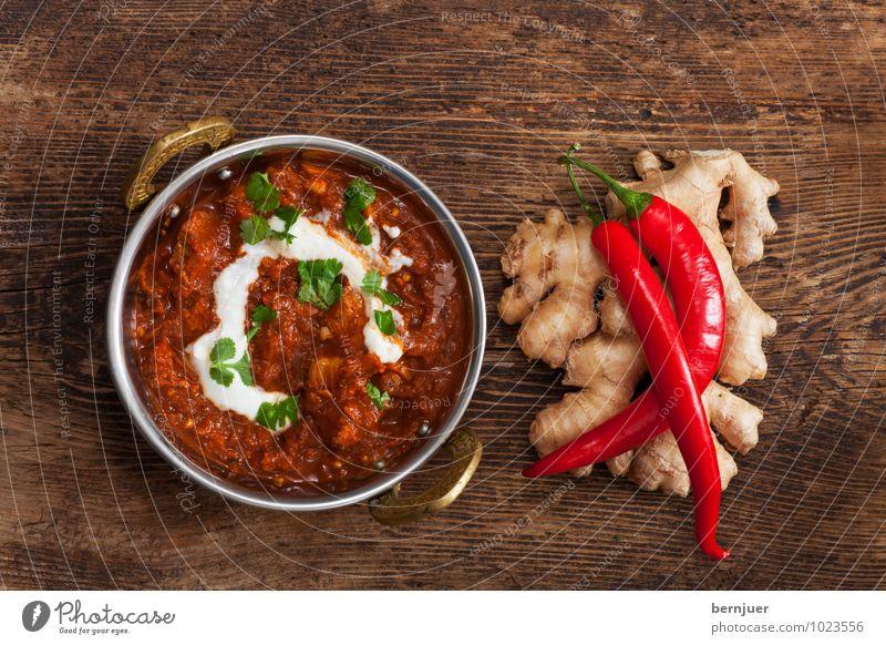 P.s Gemüse Holz Essen Lebensmittel authentisch Scharfer Geschmack gut lecker Schalen & Schüsseln Fleisch Indien rustikal Billig Zutaten sparsam Chili