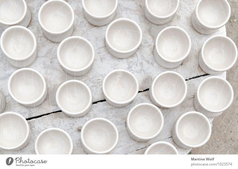 weiß Afrika Keramik Marokko Fes