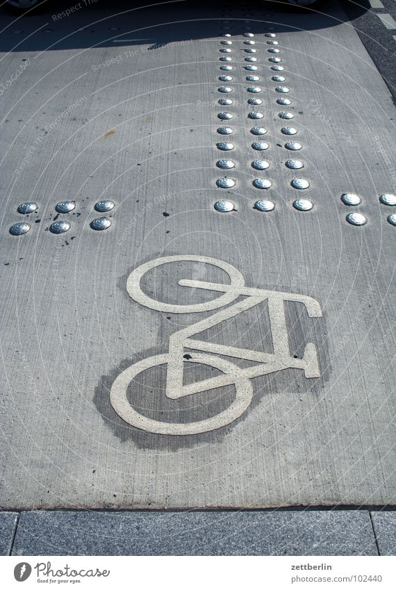 Fahrrad Fahrradweg 8 Verkehrswege Schilder & Markierungen