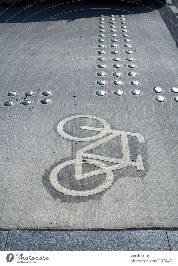 Fahrrad Schilder & Markierungen Verkehrswege 8 Fahrradweg