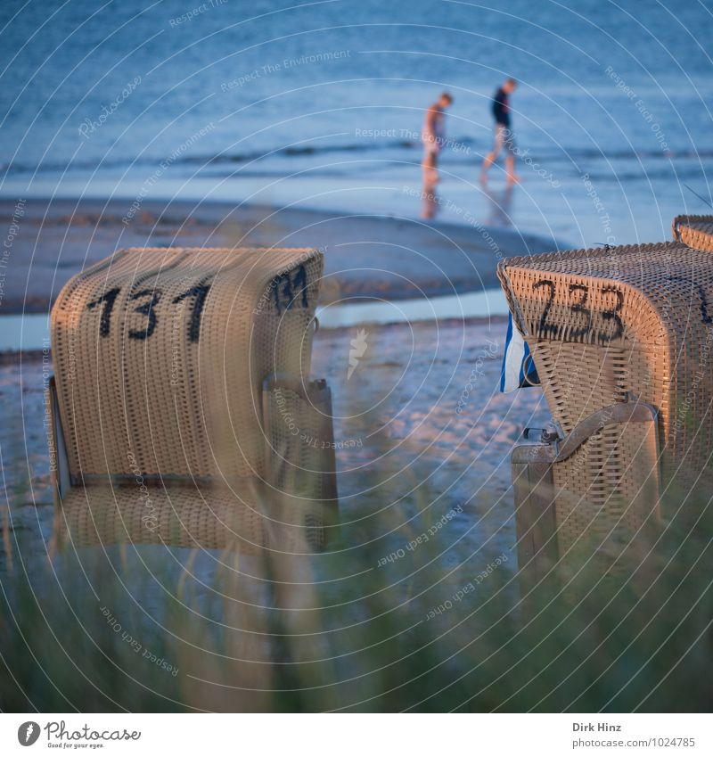Ich will Sommer! Wellness Ferien & Urlaub & Reisen Tourismus Sommerurlaub Sonne Strand Meer Wellen Mensch 2 Schönes Wetter Nordsee Ostsee Sand Erholung laufen