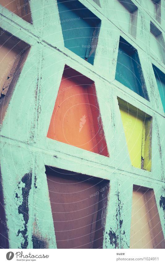 Gut in Form alt schön Farbe Wand Architektur Stil Gebäude Mauer außergewöhnlich Kunst Fassade Design Dekoration & Verzierung dreckig Ordnung Kreativität
