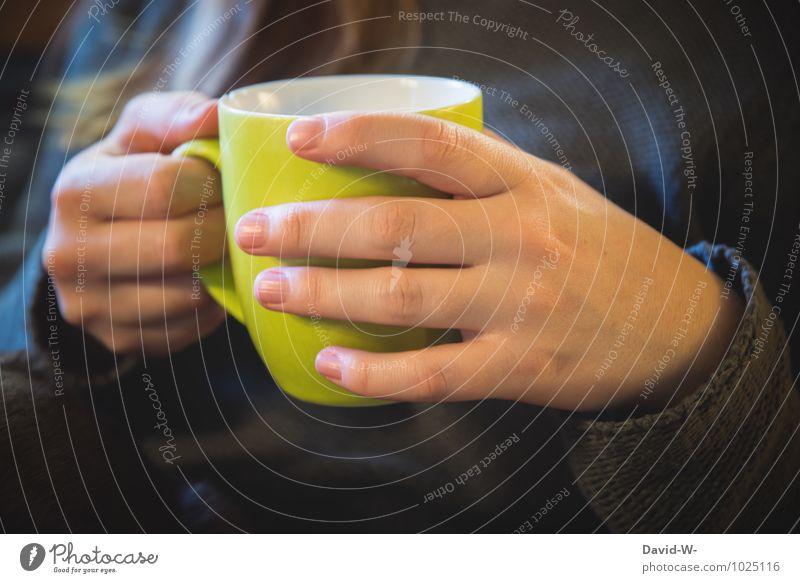 Frostige Tage ~ selbstgemacht Kaffeetrinken Getränk Heißgetränk Tee Tasse Becher Gesundheit Gesundheitswesen Gesunde Ernährung Krankheit Leben harmonisch