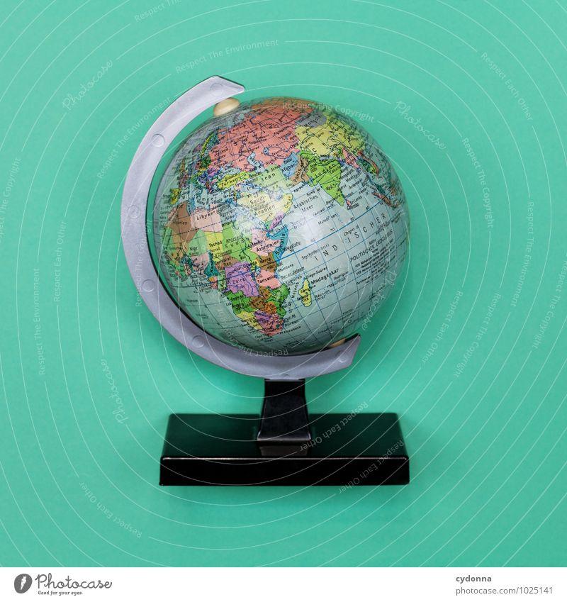 Kleine Welt Bildung Wirtschaft Handel Güterverkehr & Logistik Fortschritt Zukunft Raumfahrt Globus Farbe Gesellschaft (Soziologie) Konkurrenz Netzwerk