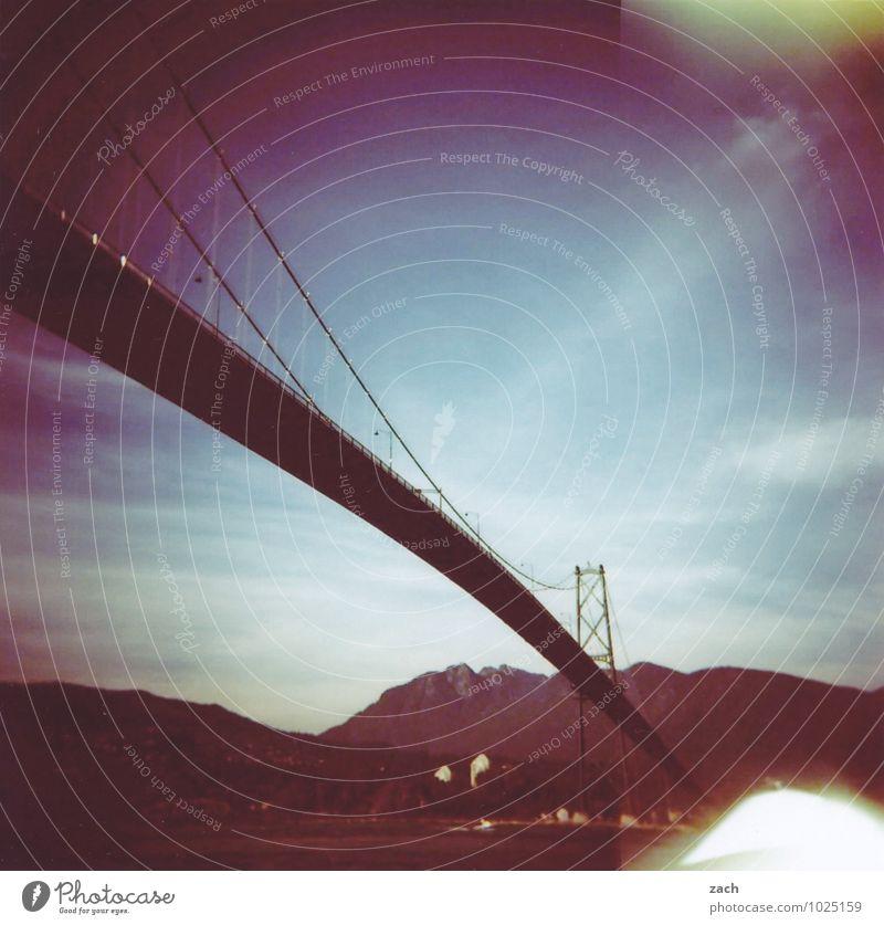 Verbindungsstück Ferne Städtereise Wasser Wald Hügel Felsen Berge u. Gebirge Küste Meer Insel Fluss Vancouver Kanada Nordamerika Stadt Hafenstadt Haus Brücke