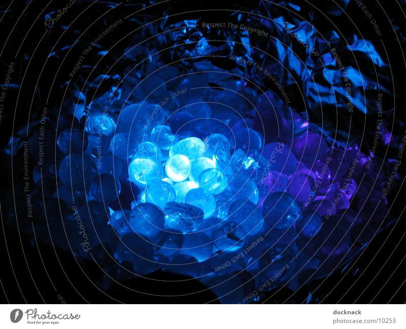 blaudings2 blau Lampe Glas Dinge