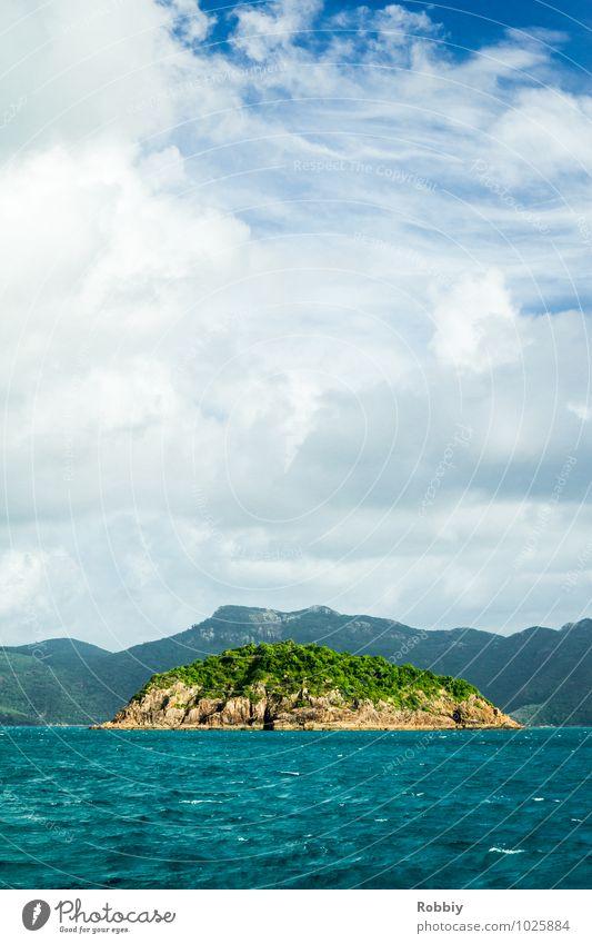 l'île Natur Landschaft Wasser Himmel Sommer Meer Pazifik Insel Whitsunday Islands Australien + Ozeanien natürlich Abenteuer Einsamkeit Erholung