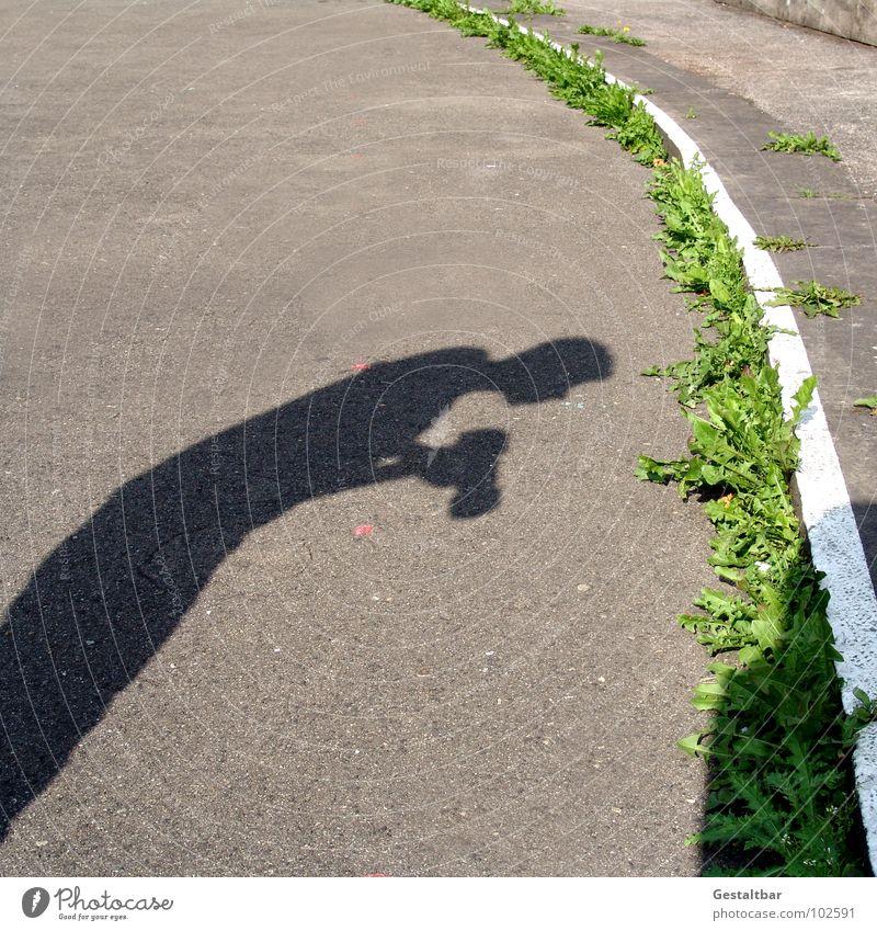 Nord trifft Süd Mann grün Fotografie Schilder & Markierungen groß Macht Ecke Bodenbelag Freizeit & Hobby Fotokamera Streifen lang Fotografieren Bogen