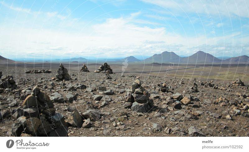 Gibt es Leben auf dem Mars? Himmel ruhig Wolken Einsamkeit Ferne Berge u. Gebirge Stein Horizont Ecke Wüste Spitze Unendlichkeit eckig Enttäuschung friedlich Mineralien