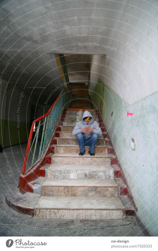 /// Lifestyle Stil Häusliches Leben Wohnung Renovieren Umzug (Wohnungswechsel) einrichten Innenarchitektur Mensch maskulin Junger Mann Jugendliche Erwachsene 1