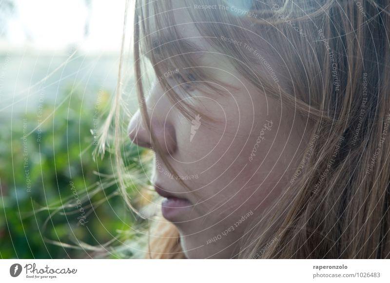 It`s all about ... Mensch Kind Jugendliche Junge Frau ruhig Gesicht Traurigkeit Gefühle Liebe feminin Denken Haare & Frisuren träumen 13-18 Jahre geheimnisvoll
