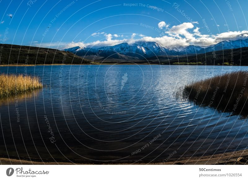 Patagonien - Ein Traum auf Erden Natur Ferien & Urlaub & Reisen Erholung Landschaft Wolken Ferne Winter Berge u. Gebirge Leben Frühling Wiese Herbst Freiheit