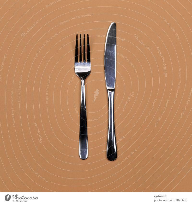 Messer & Gabel Ernährung Besteck Lifestyle Gesunde Ernährung Beginn Beratung Erwartung Farbe Genauigkeit Gesundheit Hilfsbereitschaft Inspiration Kultur Leben