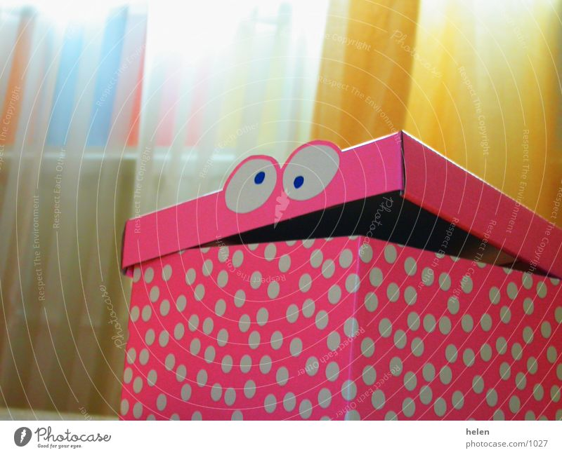 hallo rosa Dinge Kiste