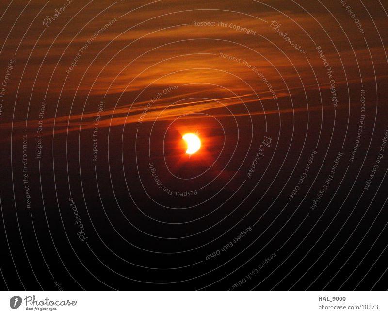 Sonnenfinsternis_4 Himmel Mond