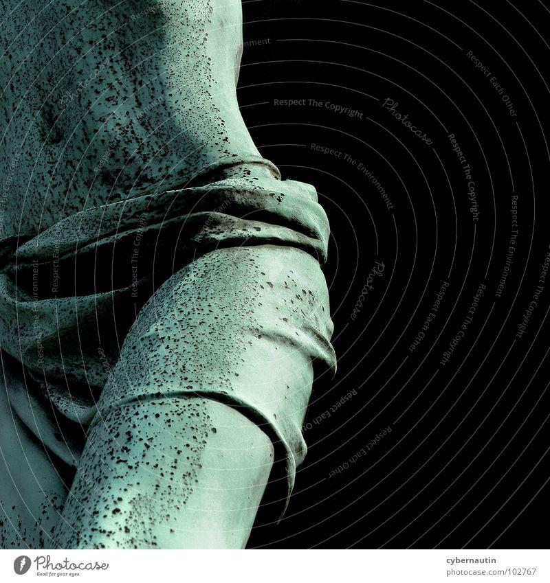 Lenden Jesu Jesus Christus Mann Hüfte Bauchnabel Bronze Grünspan Mensch Friedhof Religion & Glaube biblisch Kunst Kultur Kunsthandwerk