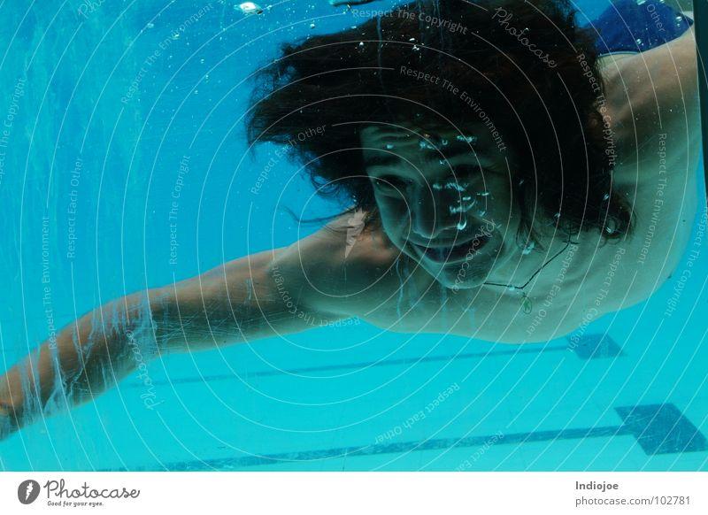 Oh..Father! I missed you! Schwimmbad Schnellzug Ecuador Wasser scream freeze guayaquil water swim