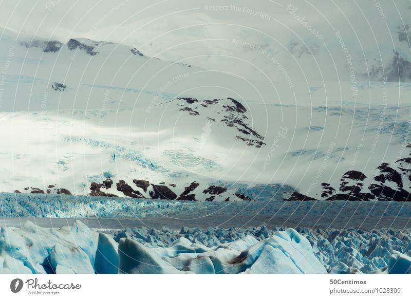 über den Eis Natur Ferien & Urlaub & Reisen Landschaft ruhig Ferne Winter Berge u. Gebirge Umwelt Leben Schnee Sport Freiheit Nebel Wind Abenteuer