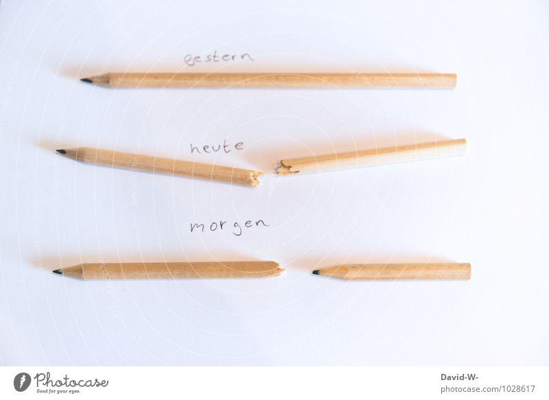 Optimismus Denken Schule Arbeit & Erwerbstätigkeit Zufriedenheit Kraft Erfolg Kreativität lernen Idee Papier Zeichen kaputt Glaube Bildung Zukunftsangst