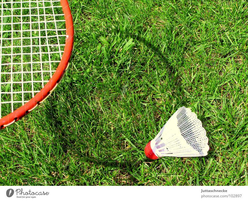 Schattenspiel Spielen Spielzeug Badminton Gras Sport Außenaufnahme Bespannung Freizeit & Hobby Federball