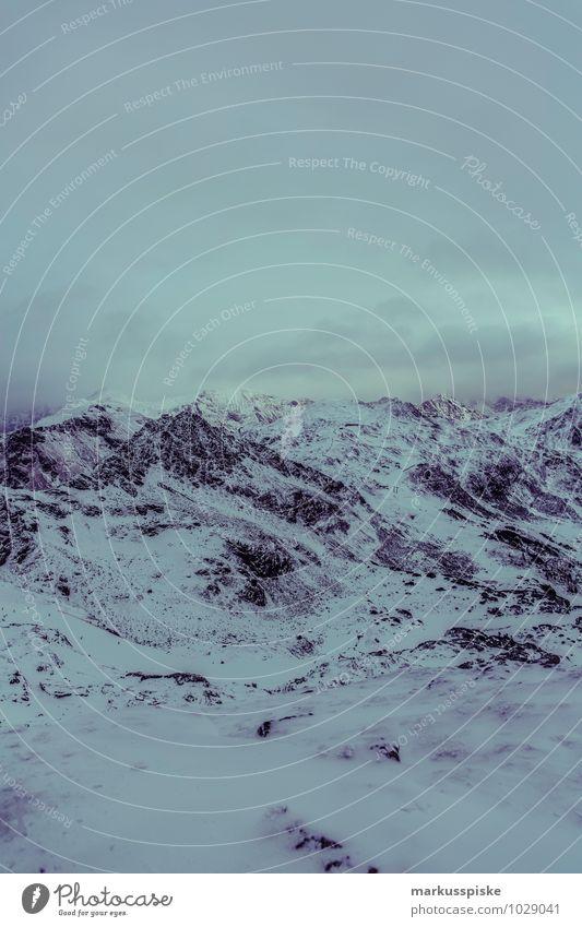 obertauern hundskogel plattenspitz Landschaft Winter dunkel Berge u. Gebirge Leben Schnee Sport Lifestyle Gipfel Alpen Schneebedeckte Gipfel sportlich