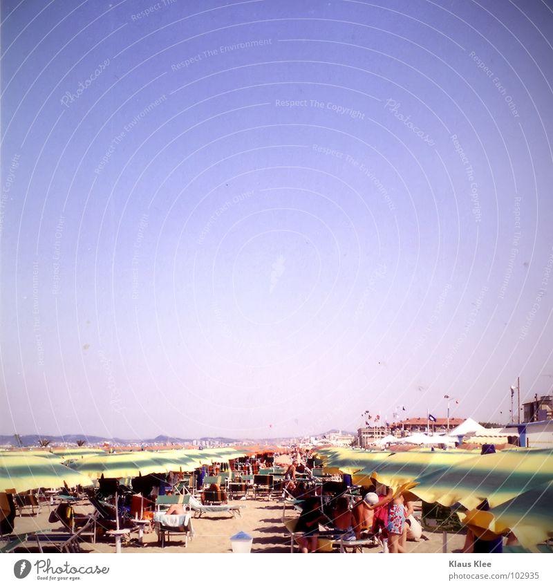 MY MISSED DAY IN VENICE Mensch Himmel Ferien & Urlaub & Reisen Mann blau schön Sommer Wasser Baum Sonne Hand Meer rot Landschaft Einsamkeit Wolken