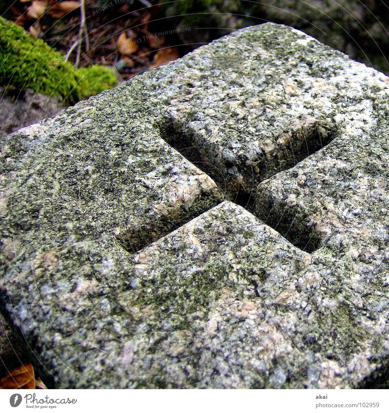 Hart wie Granit 4 Stein Schilder & Markierungen Rücken Handwerk Stapel Würfel Alm Haufen Mineralien Quader Feldberg