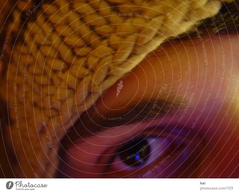 meinebraunemuetze Mann Jugendliche Gesicht Auge Mütze Augenbraue Bildausschnitt