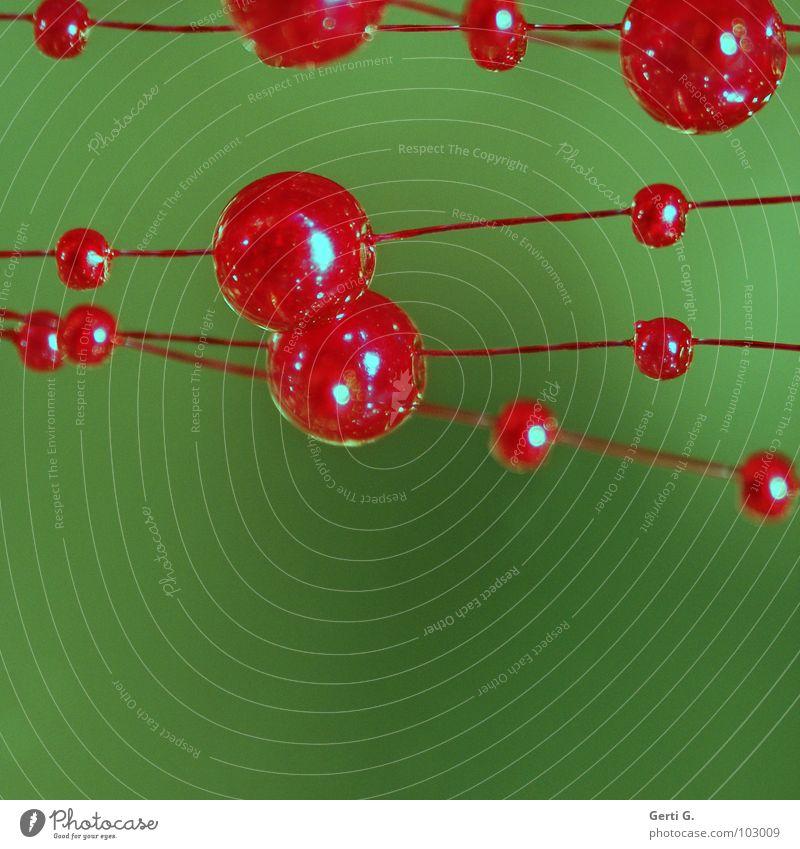 atomic grün rot Linie Zusammensein Technik & Technologie rund Dekoration & Verzierung Physik Wissenschaften Kugel Schnur Schmuck Verbindung Reihe Perle