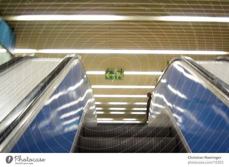 rolltreppe Rolltreppe U-Bahn Fototechnik