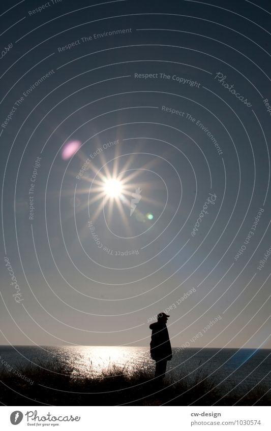HEUTE: Tag des strahlenden Sterns Mensch Natur Ferien & Urlaub & Reisen Jugendliche Mann Sonne Landschaft ruhig Freude Junger Mann 18-30 Jahre Ferne Erwachsene