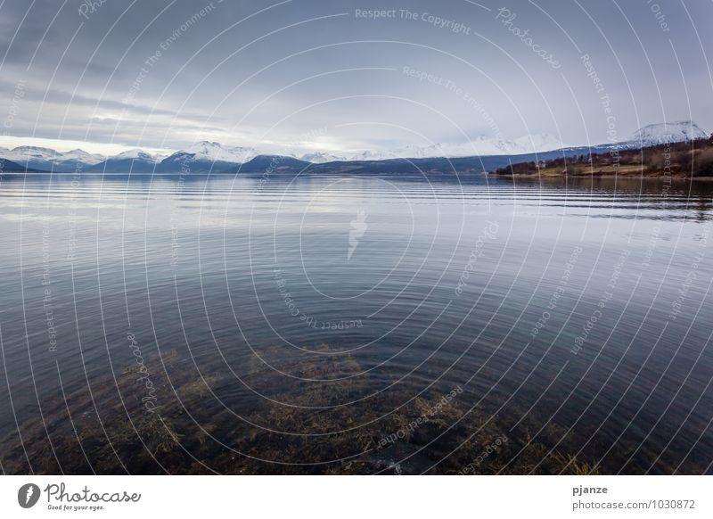 Die Welle Himmel Natur Ferien & Urlaub & Reisen Wasser Meer Landschaft Wolken Winter Strand Ferne Berge u. Gebirge Herbst Schnee Küste Freiheit Horizont