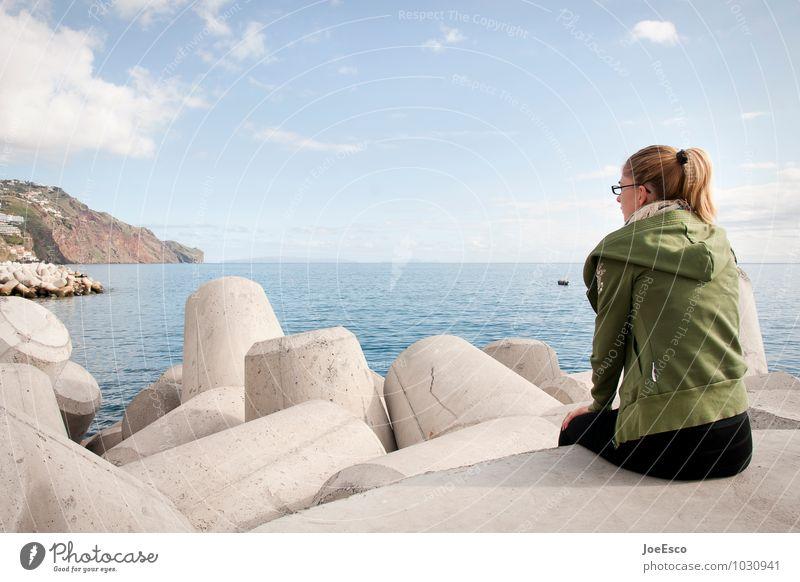 #1030941 Freizeit & Hobby Ferien & Urlaub & Reisen Tourismus Ausflug Ferne Sommer Sommerurlaub Meer Frau Erwachsene Mensch 18-30 Jahre Jugendliche beobachten