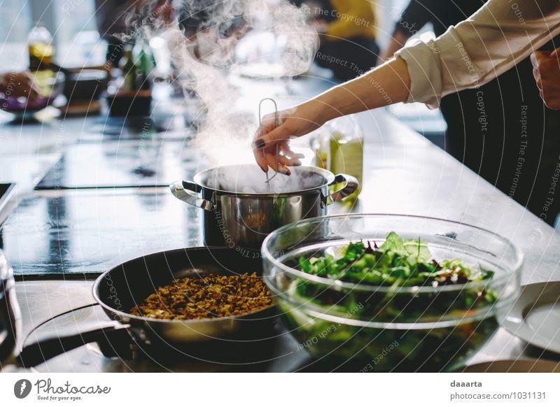 Erholung Hand Freude Leben feminin Stil außergewöhnlich Stimmung Lebensmittel Lifestyle Freizeit & Hobby elegant Erfolg Fröhlichkeit Arme Tisch