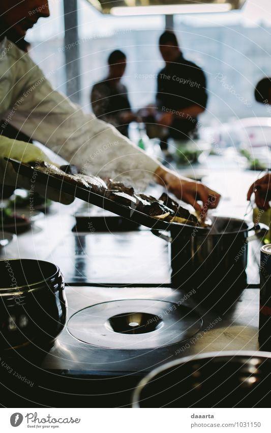 Soßenherstellung Lebensmittel Fleisch Suppe Eintopf Saucen Teller Schalen & Schüsseln Topf Besteck Lifestyle elegant Stil Design Freude Freizeit & Hobby