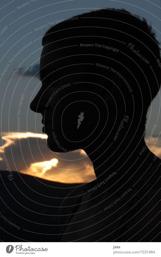 in der aufgehenden sonne harmonisch Wohlgefühl Zufriedenheit Sinnesorgane Erholung ruhig Meditation Ferien & Urlaub & Reisen Abenteuer Ferne Freiheit Sommer