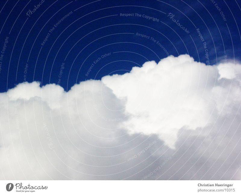 Wolke Wolken Schönes Wetter Blauer Himmel