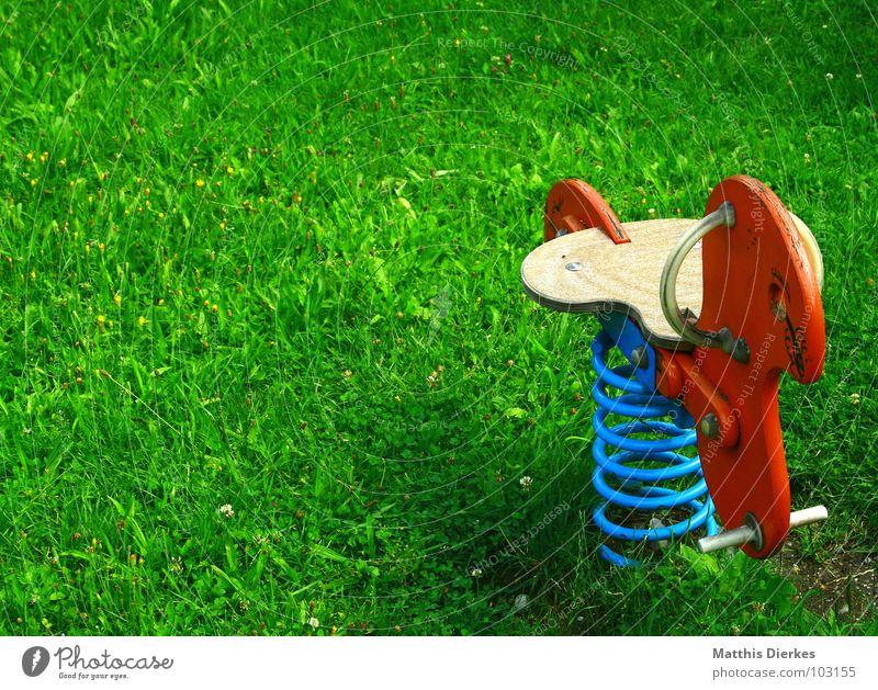 SPIELPLATZ   PLAYGROUND alt grün Sommer Freude Wiese Spielen Freiheit Holz Sand Park Zeit Zusammensein Kindheit Zufriedenheit Freizeit & Hobby Platz