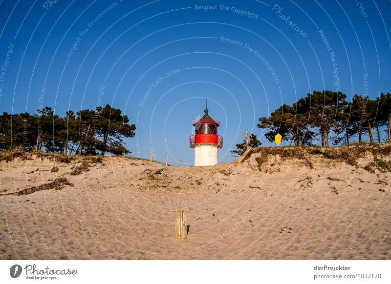 Klein, aber fein: Leuchtturm auf Hiddensee Natur Ferien & Urlaub & Reisen Pflanze Meer Landschaft Ferne Strand Umwelt Frühling Küste Freiheit Tourismus Wellen
