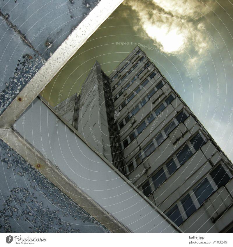 G Himmel Stadt Leben Berlin Fenster Landschaft Lampe Architektur Raum Beleuchtung Beton Hochhaus Fassade rund Niveau Häusliches Leben