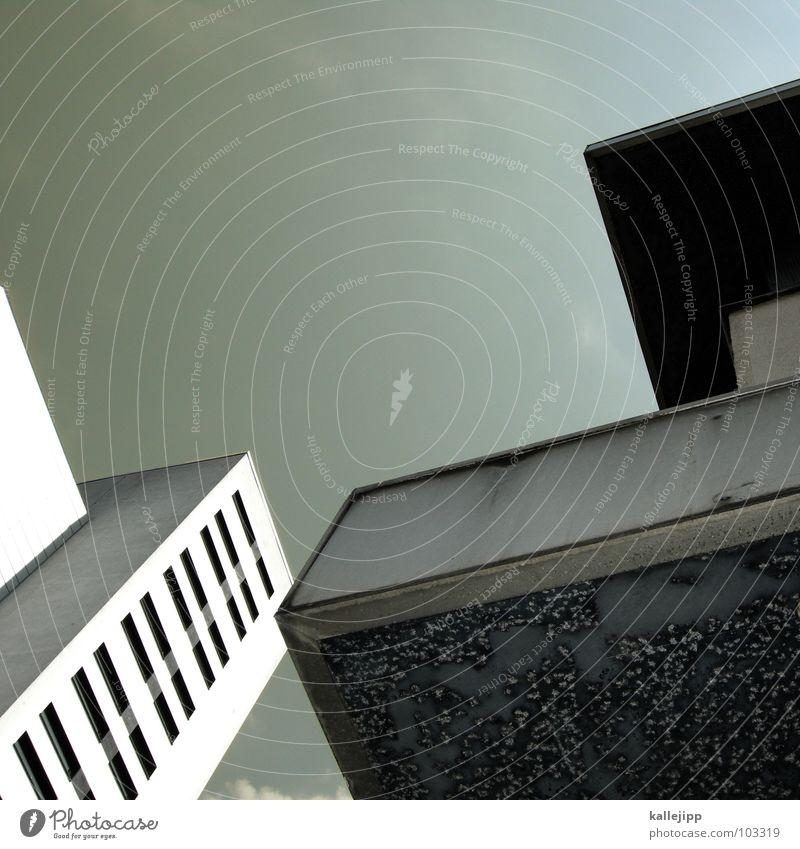 ein zett für berlin Himmel Stadt Leben Berlin Fenster Landschaft Architektur Raum Beton Hochhaus Fassade rund Niveau Dach Häusliches Leben Balkon
