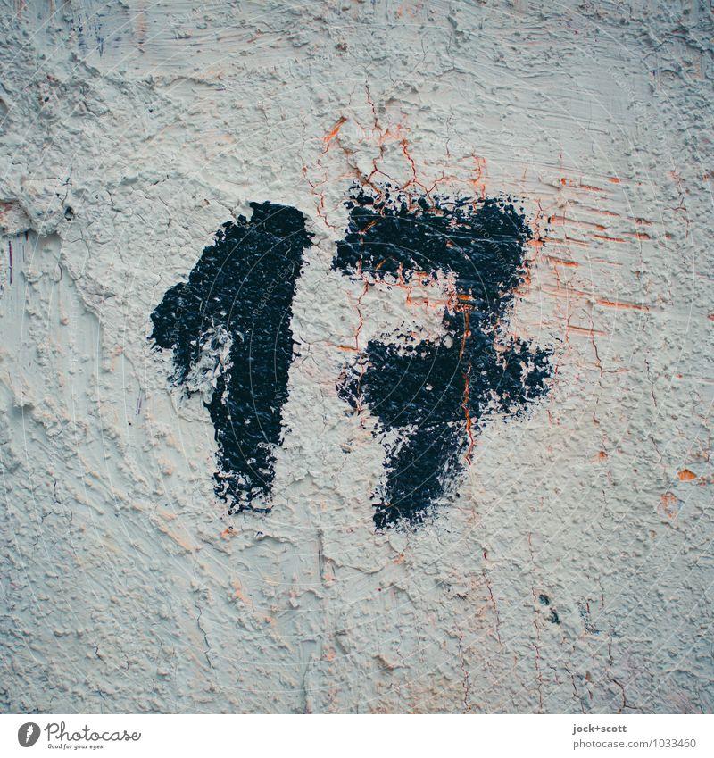 VIXI Stil Subkultur Straßenkunst Acrylfarbe Pinselstrich Linie 17 einfach fest einzigartig nerdig grau Wahrheit sparsam Desaster Idee Inspiration Kreativität