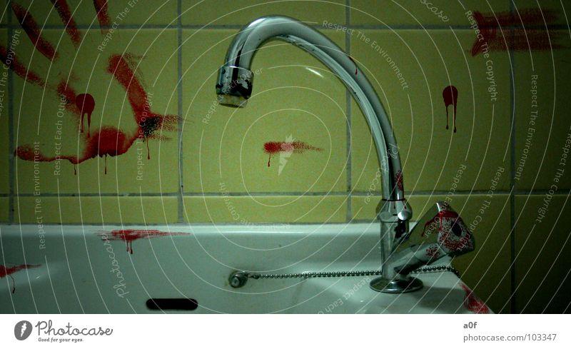 blood Sauberkeit Gewicht Wut Ärger Blut Tod Mord Angst danach